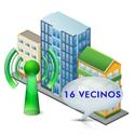 Imagen de Sistema de acceso a comunidades de hasta 16 vecinos