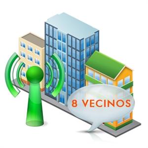 Imagen de Sistema de acceso a comunidades de hasta 8 vecinos